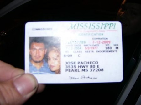 Worst Fake ID ever? Or conjoined twins?