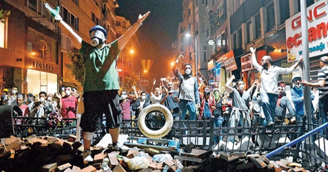 Gezi barricade